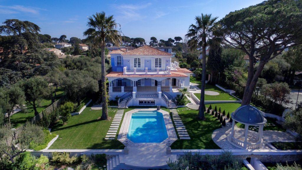 Luxe huizen aan de Cote d'Azur