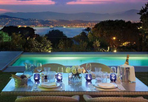 Uitzicht Hotel Eden Roc