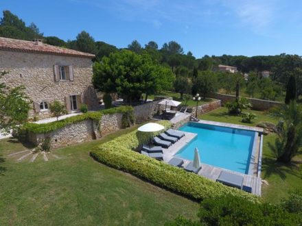 vakantiehuis in zuid-frankrijk met prive zwembad