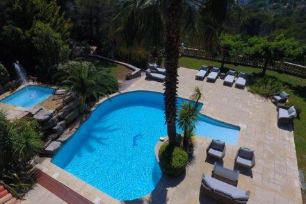 vakantiehuis zwembad zuid frankrijk