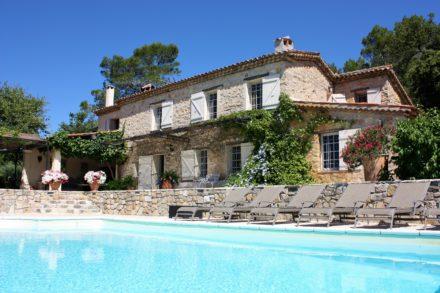 Villa met zwembad zuid frankrijk