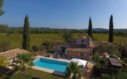Villa Zuid-Frankrijk tussen de wijngaarden